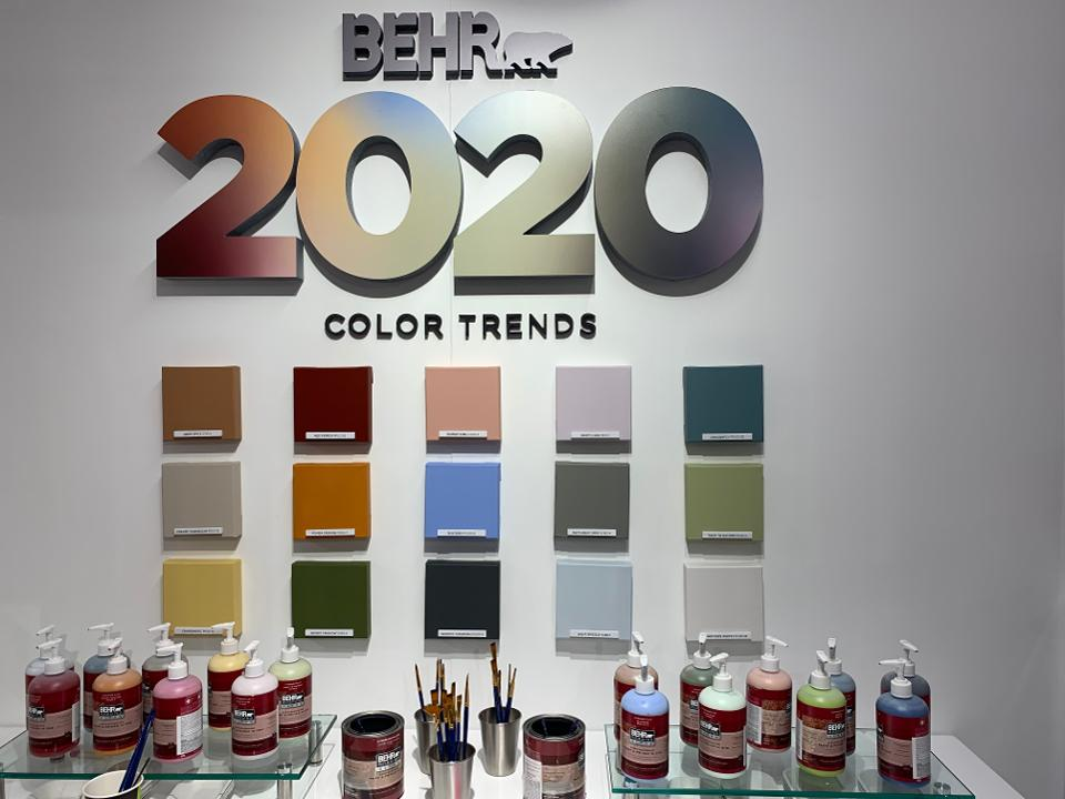 different color palets