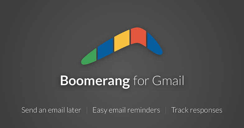 sales enablement software for connecting: Boomerang for Gmail