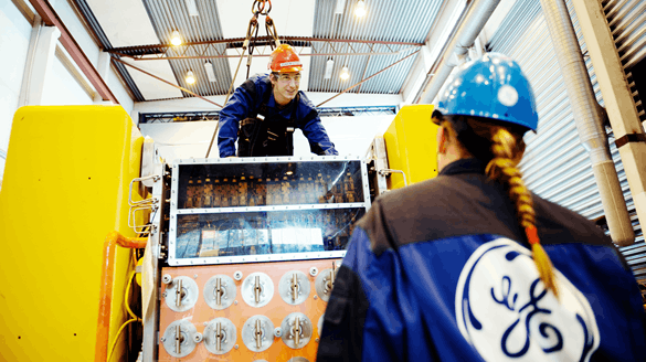 people working at General Electric