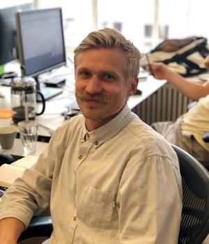 Templafy's Business Development Representative Simon