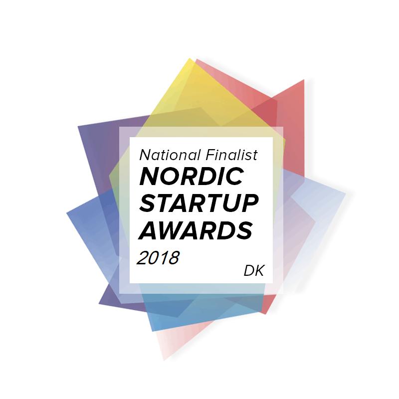 national finalist Nordic startup awards 2018