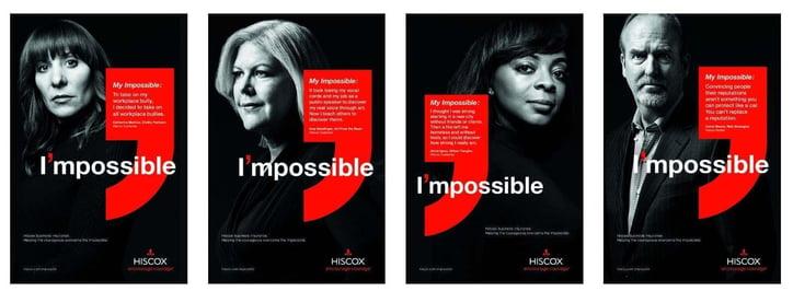 positive branding insurance firm Hiscox Business