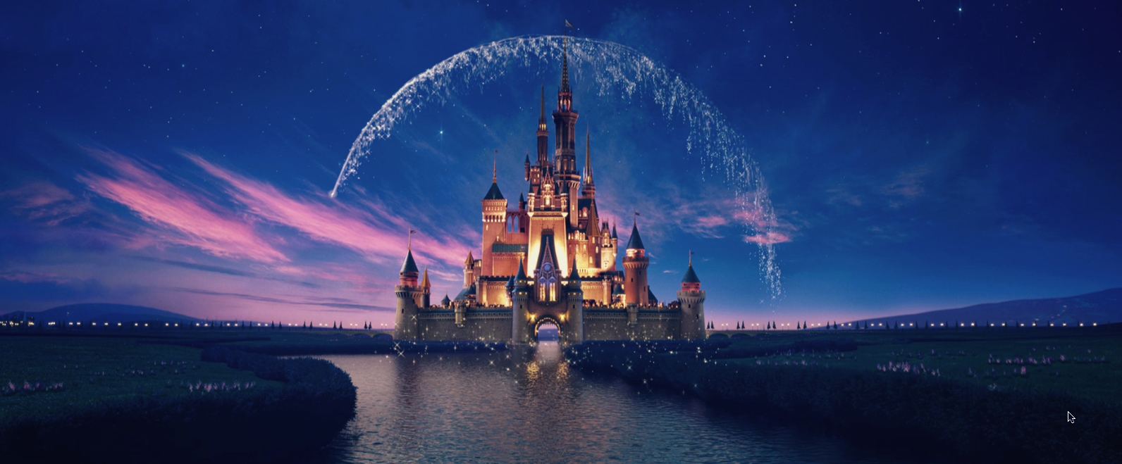 Disney castle with falling star as an example of a magician brand