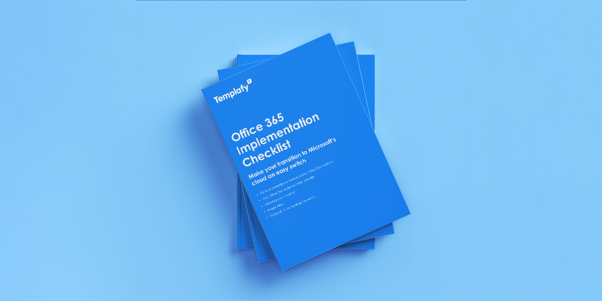 Office 365 implementation checklist