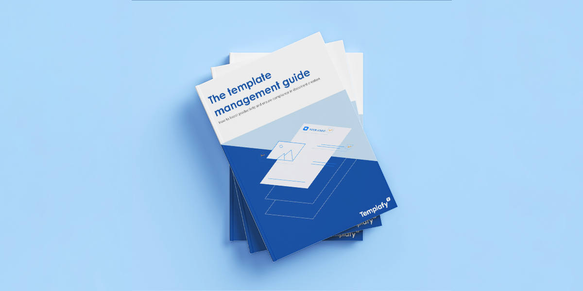 Template management guide